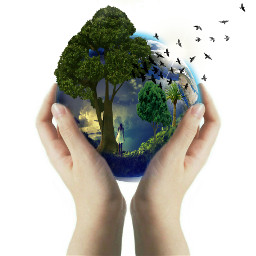 earthday wapearthinhands doubleexposure hands clipart