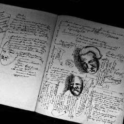 book sketches black dark noir