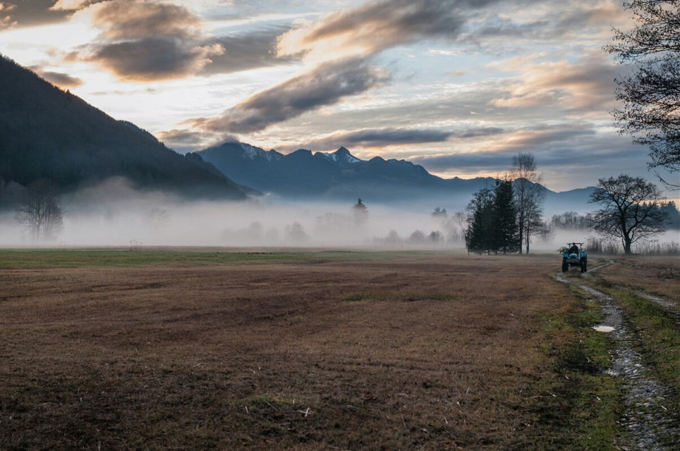 #nature #photography #rural #alps #fog #foggy  #landscape  #countryside #mountains #light #winter  #germany