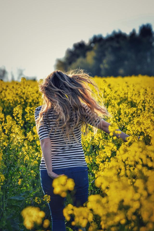Lauf nicht vor deiner Angst weg, stell dich! 😈  #wpdflowerfield #wapwindy