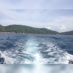 ocean mar venezuela beach boat